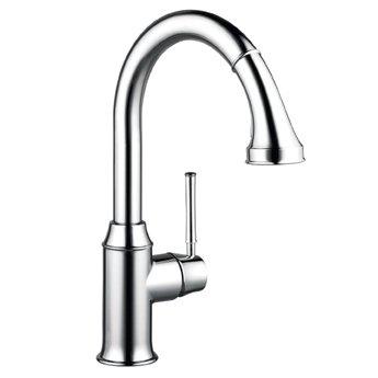 Hansgrohe 04215800 Talis C HighArc Kitchen Faucet - Steel Optik