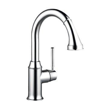 Hansgrohe 04216920 Talis C Prep High Arc Kitchen Faucet