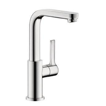 Hansgrohe 31161001 Metris S Tall Bathroom Faucet - Chrome