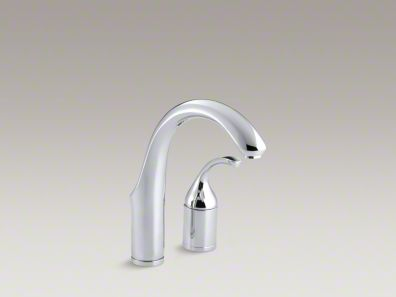 Kohler Forté® Two-hole bar sink faucet with lever handle K-10443