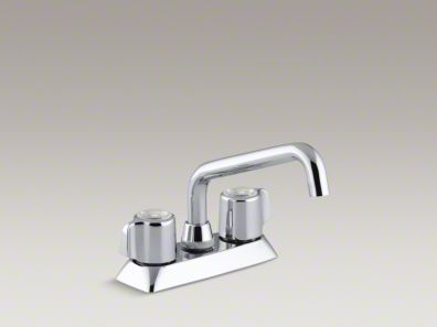 Kohler Coralais® Utility sink faucet with blade handles K-15270-B-CP