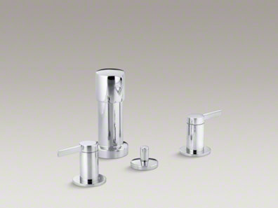 Kohler Stillness® Vertical spray bidet faucet with lever handles K-960-4