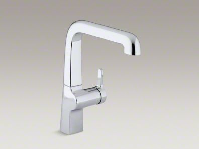 "Kohler Evoke® Single-hole kitchen sink faucet with 9"" spout K-6333"