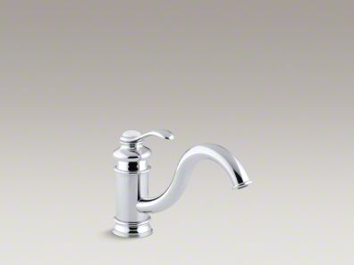 "Kohler Fairfax® Single-hole kitchen sink faucet with 9"" spout K-12175"
