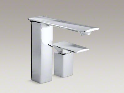 Kohler  Stance® deck-mount bath faucet with lever handle  K-14775-4