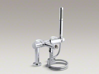 Kohler  Toobi™ deck-mount bath faucet trim with handshower K-8973-7