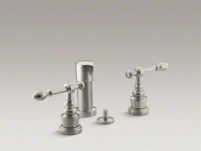 Kohler  IV Georges Brass® Vertical spray bidet faucet with lever handles K-6814-4