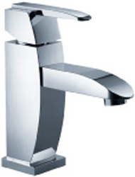 FLUID F20001-BN Penguin Series Single Lever Lavatory Faucet - Brushed Nickel