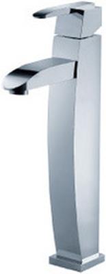 FLUID F20002-CP Single Lever Lavatory Vessel Faucet - Chrome