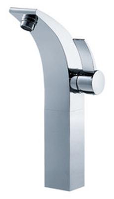 FLUID F13002-CP Sublime Series Single Lever Lavatory Vessel Faucet - Chrome