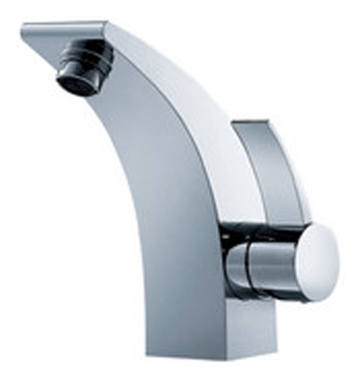 FLUID F13001-BN Sublime Series Single Lever Lavatory Faucet - Brushed Nickel