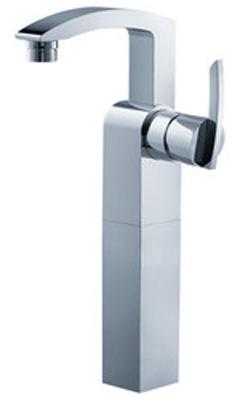 FLUID F16002-CP Toucan Series Single Lever Lavatory Vessel Faucet - Chrome