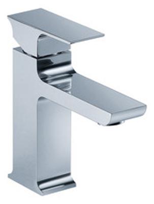 FLUID F21001-BN Jovian Series Single Lever Lavatory Faucet - Brushed Nickel