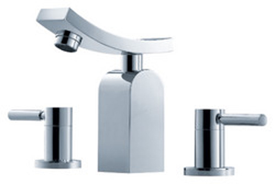 FLUID F14006 Emperor Series Dual Handle Lavatory Faucet - Chrome