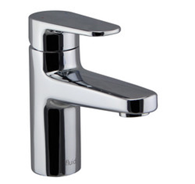 FLUID F18001-BN Utopia Series Single Lever Lavatory Faucet - Brushed Nickel