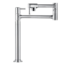 Hansgrohe 04219800 Talis C Deck Mounted Pot Filler - Steel Optik