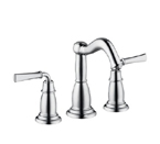 Hansgrohe 04270920 Tango C Widespread Bathroom Faucet with Metal Lever Handles and Pop Up Drain - Rubbed Bronze