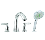 Hansgrohe 06123820 Swing C Roman Tub Filler - Brushed Nickel
