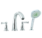 Hansgrohe 06124820 Swing C Roman Tub Filler - Brushed Nickel