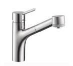 Hansgrohe 06462861 Talis S Low Flow Kitchen Faucet - Steel Optik