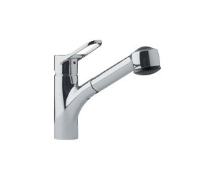 Franke FFPS280 Pull out Spray Kitchen Faucet Satin Nickel 115.0067.259