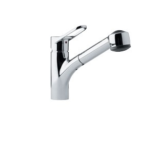 Franke FFPS200 Pull out Spray Kitchen Faucet Polished Chrome 115.0067.258