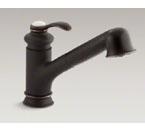 Kohler K-12177 Fairfax SC Pllout Kitchen Faucet, ORBrnz