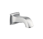 Hansgrohe 13413821 Metris C Tub Spout Wall Mounted Non Diverter - Brushed Nickel