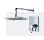 FLUID F1351-CP Sublime Series Shower Trim Package - Chrome