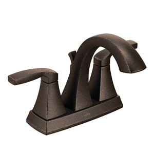Moen Voss Two Handle High - Arc Bathroom Faucet in Oil Rubbed Bronze 6901ORB