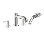 Hansgrohe 14314821 Talis C Roman Tub Filler Faucet with Diverter - Brushed Nickel