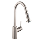 Hansgrohe 14877801 Talis S Kitchen Faucet - Steel Optik