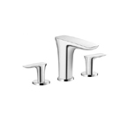 Hansgrohe 15073401 PuraVida Bathroom Faucet - Chrome/White