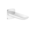 Hansgrohe 15412401 PuraVida Tub Spout Wall Mounted Non Diverter - Chrome/White