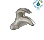 American Standard 7385.004.295 Reliant 3 Centerset Bathroom Faucet  - Less Pop Up Drain and Hole - Satin