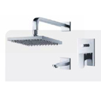 FLUID F1840-CP Utopia Tub & Shower Trim Package - Chrome