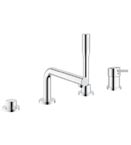 Grohe 19576 001 Concetto 4-Hole Single-Lever Bath Combination - Chrome