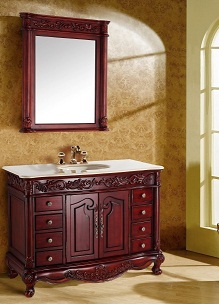 Suneli Alexandria Series Italian Elegance Antique Single Bathroom Vanity 8103