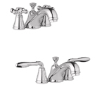"Grohe 20122 BE0 Seabury 4"" Mini-Wideset Bath Faucet - Sterling"