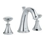 Grohe 20124 000 Kensington Three Hole Bath Faucet - Chrome