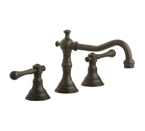 Grohe 20134 ZB0 Bridgeford Three Hole Bath Faucet - Oil Rubbed Bronze
