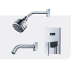 FLUID F2020T-CP Penguin Series Value Priced Tub & Shower Package - Chrome