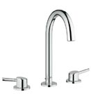 Grohe 20217 001 Concetto Three-Hole Bath Faucet - Chrome