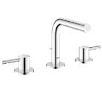 Grohe 20297 000 Essence Three-Hole Bath Faucet - Chrome