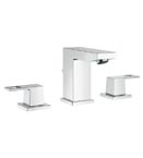Grohe 20370 000 Eurocube 3-Hole Bath Faucet - Chrome