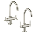 Grohe 21027 EN0 Atrio High Spout Centerset Lavatory Faucet - Brushed Nickel
