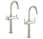 Grohe 21046 EN0 Atrio Deck Mount Vessel Faucet - Brushed Nickel