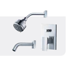 FLUID F2120T-CP Jovian Series Value Priced Tub & Shower Package - Chrome