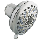 "Moen Enliven Chrome Seven-Function 4"" Diameter Standard Showerhead - 21717"