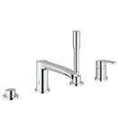Grohe 23048 002 Eurostyle Cosmopolitan 4-Hole Single-Lever Bath Combination - Chrome